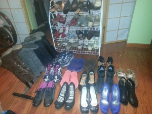 BEFORE: Every pair that I own.