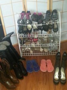 AFTER: The shoes I chose to keep.
