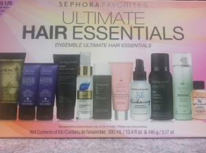 Sephora Hair Essentials Kit